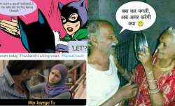 Karwa Chauth 2021: Netizens celebrate festival with memes and funny jokes