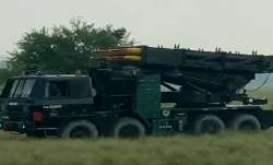 WATCH: Indian Army displays Pinaka, Smerch multiple rocket launcher systems in Assam