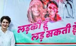 Congress General Secretary Priyanka Gandhi Vadra during a