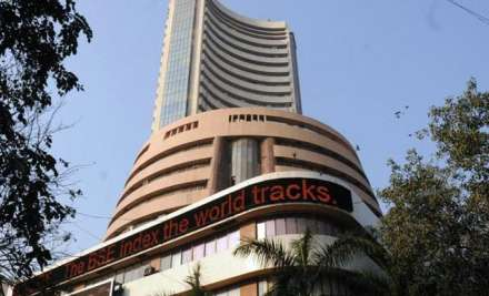 At 1203 hours, the 30-share BSE index came back to its base