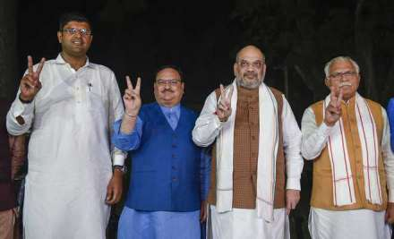 Haryana governor invites BJP-led coalition to form govt; swearing-in on Sunday