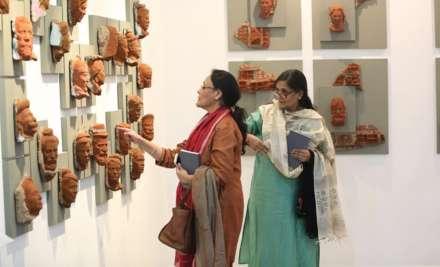Canadian artist exhibits Bollywood-inspired art at India Art Fair 2020