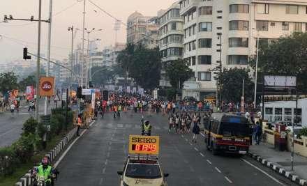 mumbai marathon, mumbai marathon india