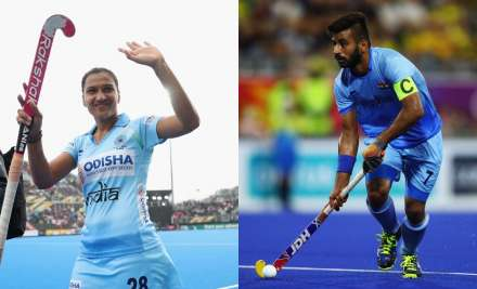 Hockey India nominates Manpreet Singh and Rani Rampal for Player of the Year award