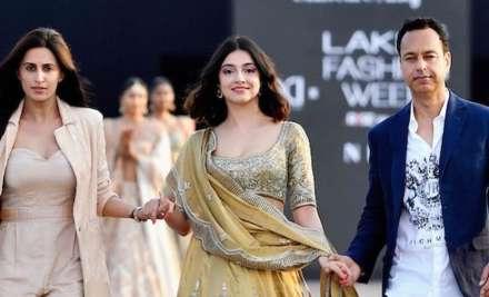 Divya Khosla Kumar walks the ramp for designer duo Shveta &