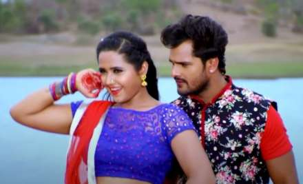 Khesari Lal Yadav and Kajal Raghavani's romantic song goes viral