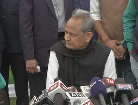 Sources within Congress say Ashok Gehlot is leading the