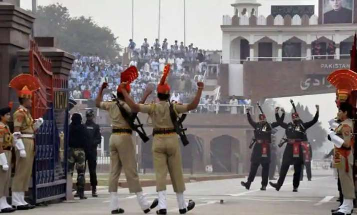 Image result for Retreat Ceremony at India-Pakistan border axed for Friday