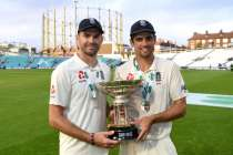 Alastair Cook hails James Anderson as England's 'greatest' cricketer