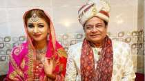 Bigg Boss 12's Anup Jalota's wedding photos with Jasleen Matharu go viral. Here's how he reacts