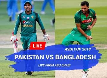 Live Cricket Online Asia Cup Pakistan Vs Bangladesh Watch
