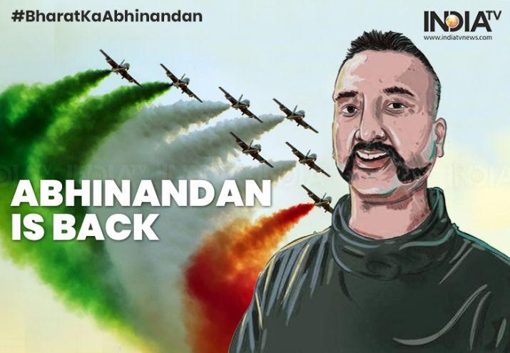 Abhinandan returned to India
