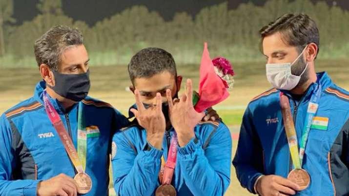 shotgun world cup, india mens skeet team
